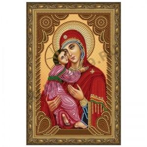 Картина стразами Богородица Владимирская CDX 001
