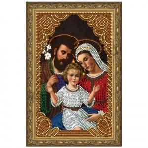 Картина стразами  Святое семейство CDX 013